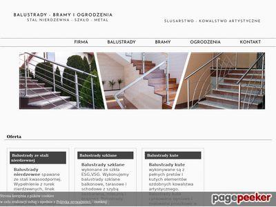 Balustradka.pl - produkcja ogrodzeń i balustrad