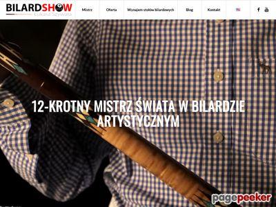 Pokazy bilardowe - bilardshow.pl