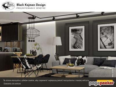 Projektowanie wnętrz - Black Kajman Design