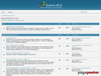 Budowa i projekty domów - forum