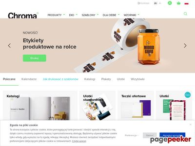 Chroma.pl: Drukarnia on-line express