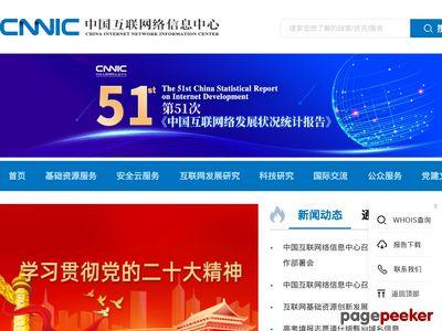 中国互联网络信息中心(CNNIC)