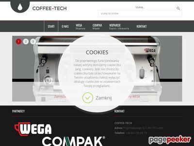 Coffee Tech:: profesjonalny ekspres do kawy