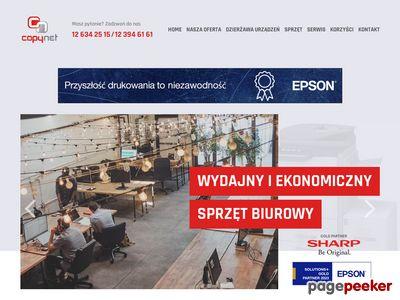 CopyNet Kraków - kserokopiarki, drukarki, niszczarki Kraków