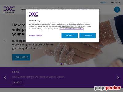 Computer Sciences Corporation Website