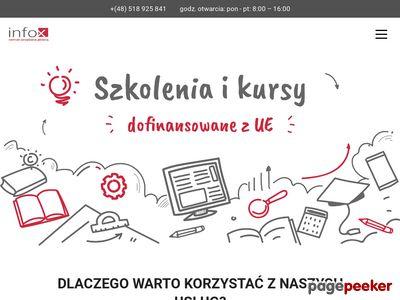 Szkolenia | Wdrożenia | Konsulting - CZJ Infox Kraków