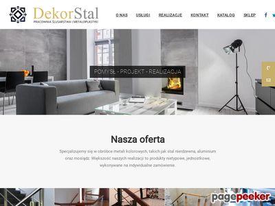 DekorStal - Pracownia Ślusarstwa i metaloplastyki
