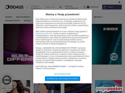 Zegarki damskie i męskie - Demus-Zegarki.pl