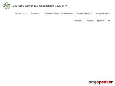 Deutsche Gartenbau Gesellschaft in 10117 Berlin