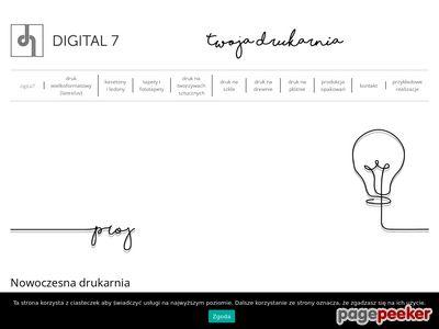 Digital7 - naklejki na samochód warszawa