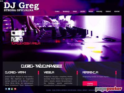 Greg Najlepszy DJ na Twoje wesele na Śląsku