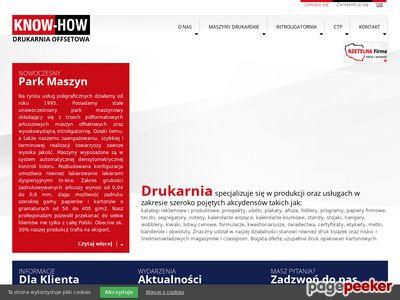 Druk katalogów - DKH