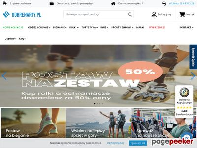 DobreNarty.pl - sklep z nartami