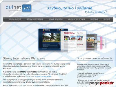 Strony www, grafika i usługi informatyczne Warszawa