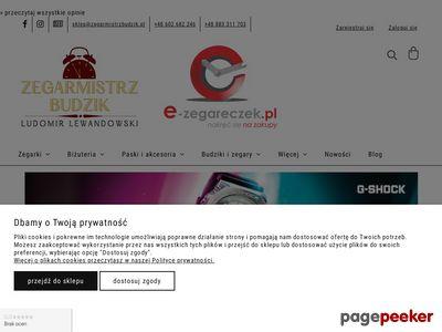 E-zegareczek - markowe zegarki