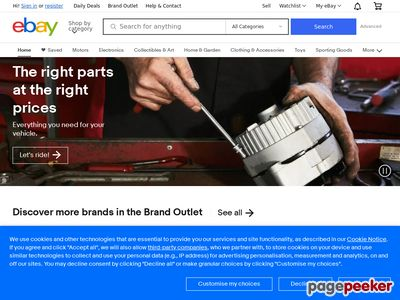 eBay Inc. Website