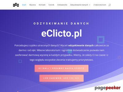 Księgarnia eClicto – polskie i zagraniczne e-booki, czytnik