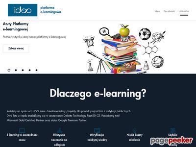 Ideo Sp. z o.o. - platforma e-learningowa