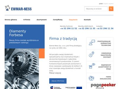 Wyroby hutnicze - Ewmar-Ness Sp. z o.o.