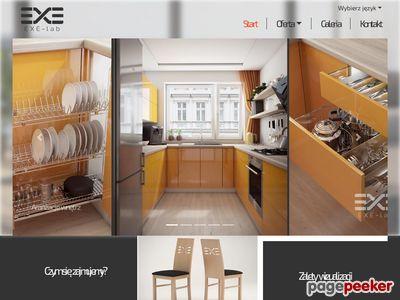 EXE-lab wizualizacje mebli jak zdjęcie
