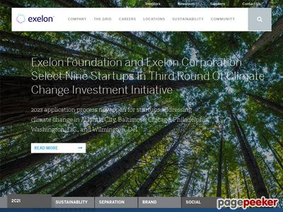 Exelon Corporation Website