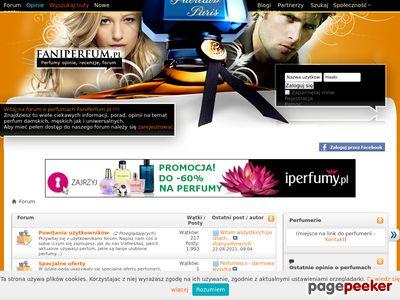 Perfumy forum