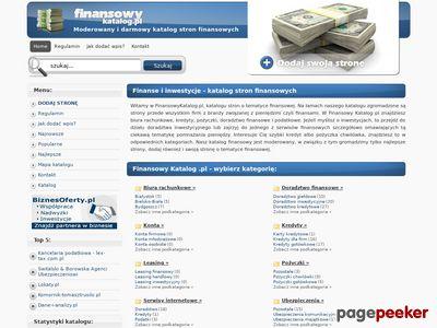 Katalog finansowy - FinansowyKatalog.pl