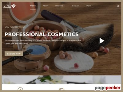 """finefashioncosmetic""網站截圖"