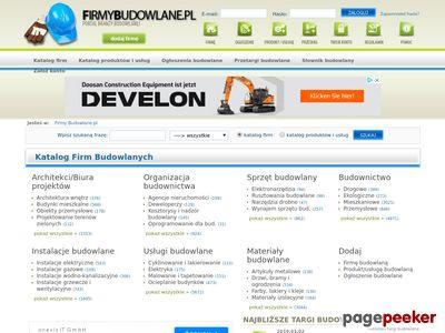 Firmybudowlane.pl - ogłoszenia budowalne