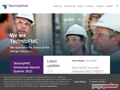 FMC Technologies Inc. Website