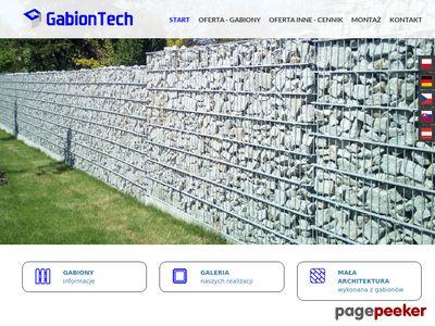 Gabion Tech - gabiony, kosze gabionowe, ogrodzenia gabionowe