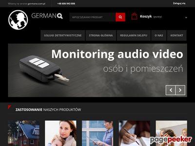 Sklep detektywistyczny Zielona Góra - Germano
