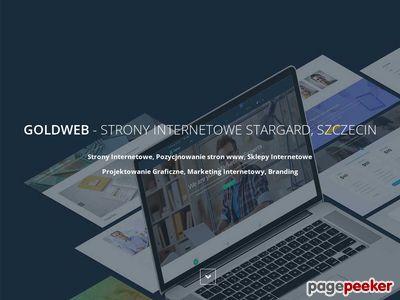 Goldweb - Stargard Szczeciński. Strony internetowe