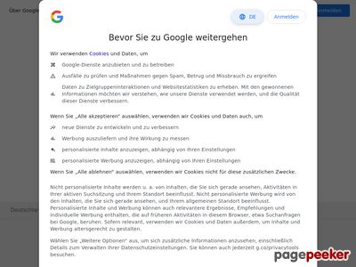 Google Inc. Website