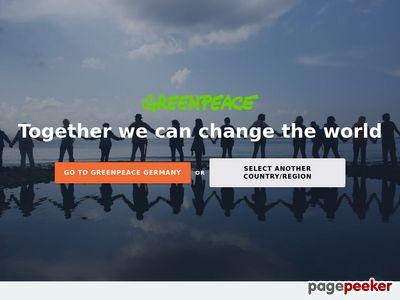 Greenpeace International(国际绿色和平组织)