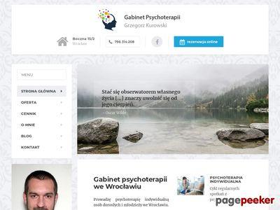 Psychoterapeuta Grzegorz Kurowski Wrocław
