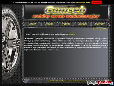 Gumseb - Mobilny serwis wulkanizacyjny 24h