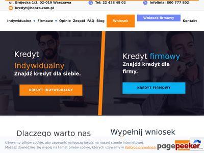 HABZA FINANSE trudny kredyt