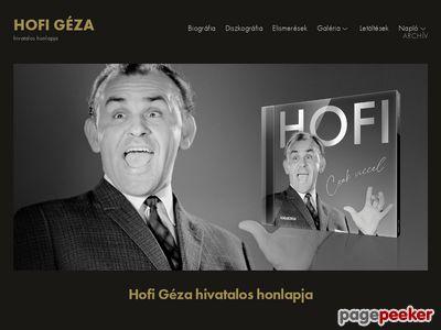 Hofi Géza (1936-2002)