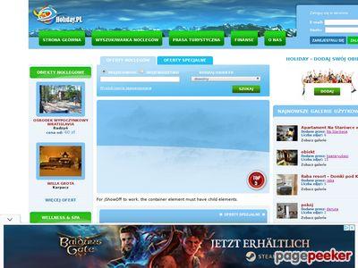 HOLIDAY.pl - SPA, hotele, pensjonaty, noclegi