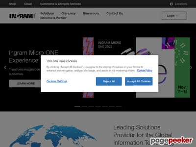 Ingram Micro Inc. Website