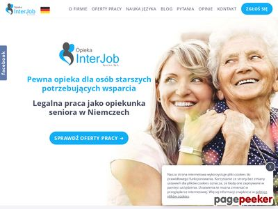 Legalna i dobrze płatna praca opiekunki w niemczech