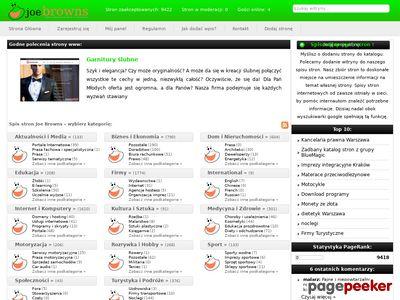 Moderowany Katalog WWW Joe-browns