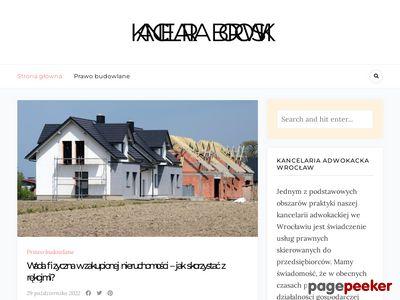 Obsługa prawna firm Wrocław - kancelaria-borowski.pl