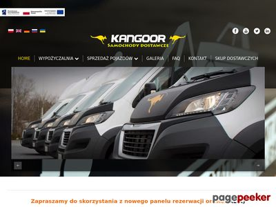 Kangoor wypożyczalnia samochodów dostawczych Bemowo