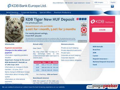 KDB Bank Európa Zrt.