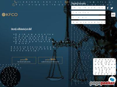 KFCO upadłość gospodarcza