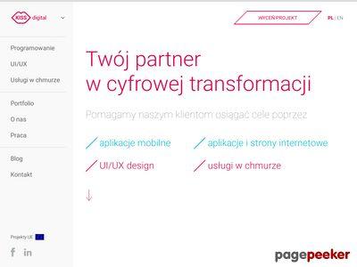 KissDigital - zaprojektujemy dla ciebie aplikację mobilną