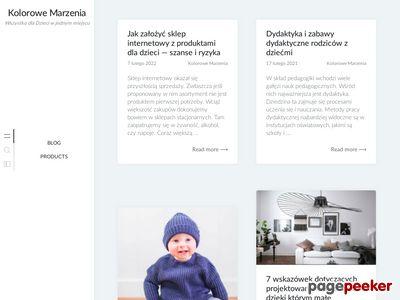 Artykuły dla dzieci - Kolorowe Marzenia