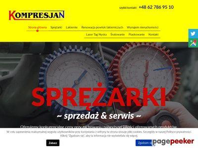 KOMPRESJAN sprężarki śrubowe Wrocław